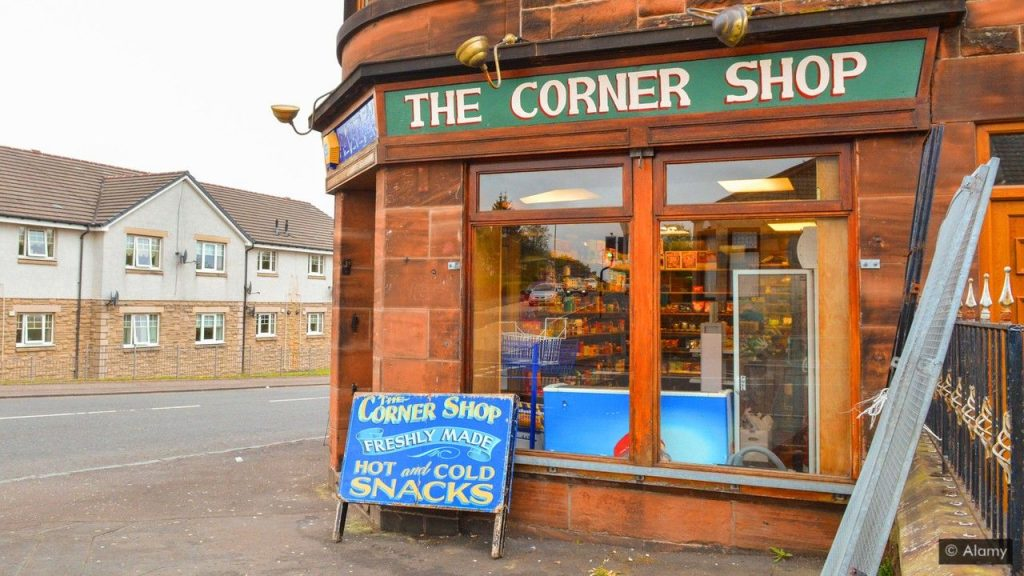 Corner shops are run by locals and give a sense of community to the neighbourhood.